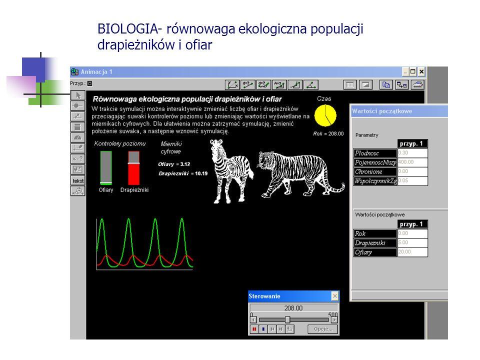 BIOLOGIA- równowaga ekologiczna populacji