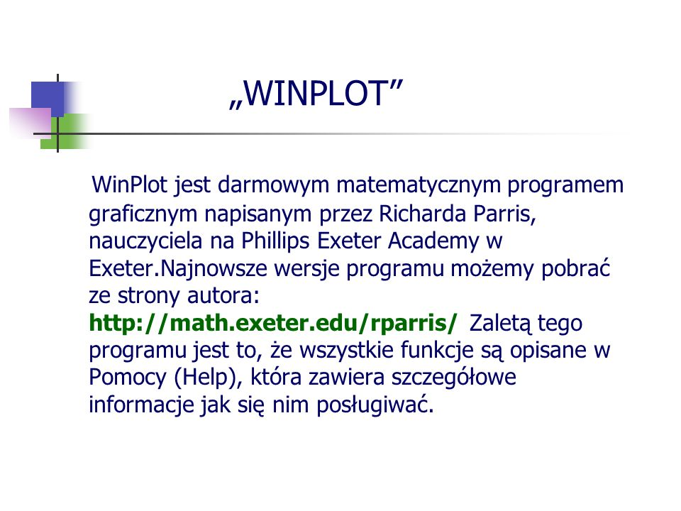 """""""WINPLOT"""