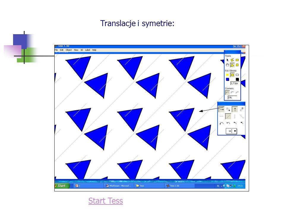 Translacje i symetrie: