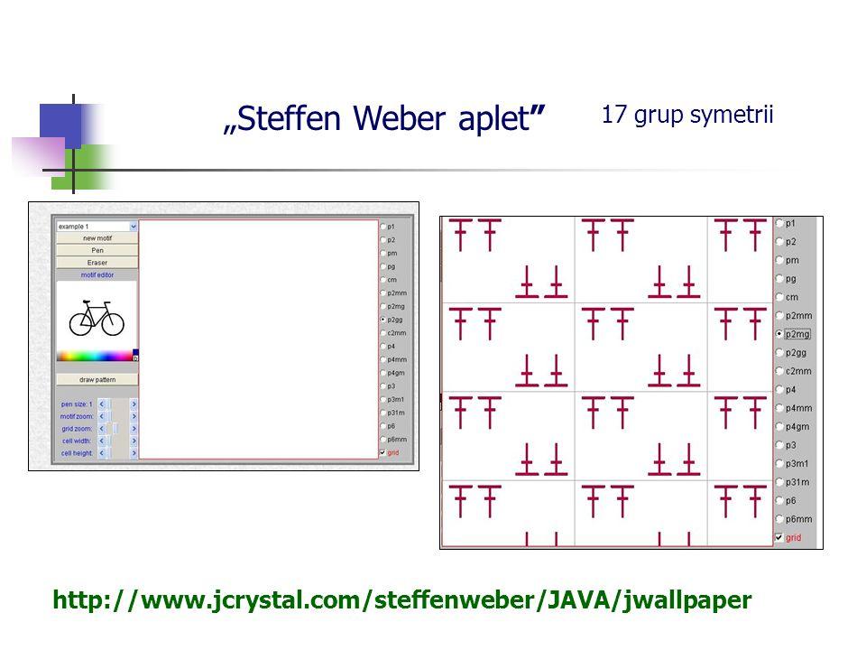 """Steffen Weber aplet 17 grup symetrii"
