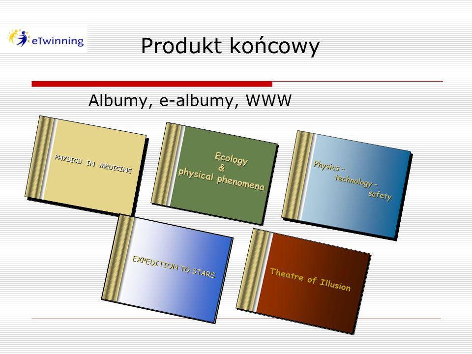 Produkt końcowy Albumy, e-albumy, WWW
