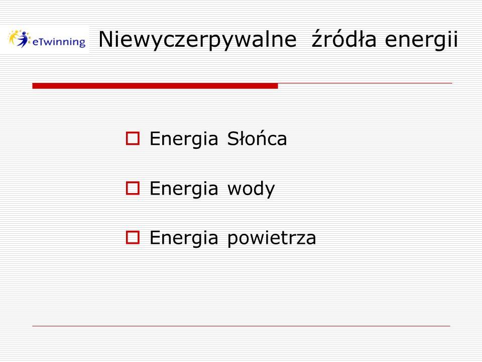 Niewyczerpywalne źródła energii