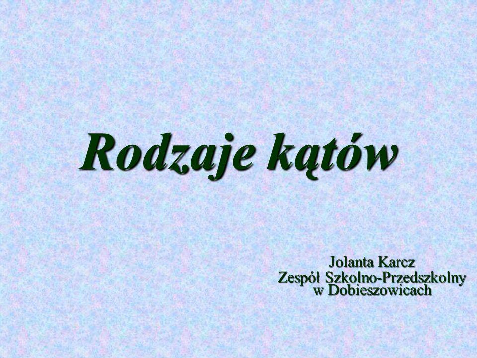 Jolanta Karcz Zespół Szkolno-Przedszkolny w Dobieszowicach