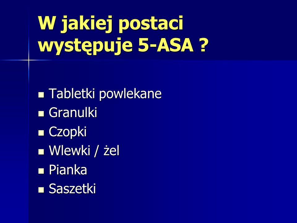W jakiej postaci występuje 5-ASA