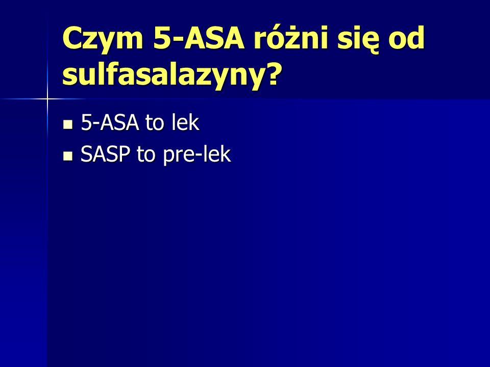 Czym 5-ASA różni się od sulfasalazyny
