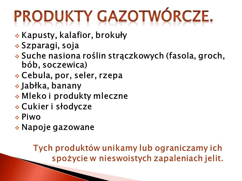 Produkty gazotwórcze. Kapusty, kalafior, brokuły Szparagi, soja