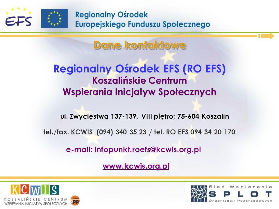Regionalny Ośrodek EFS (RO EFS)