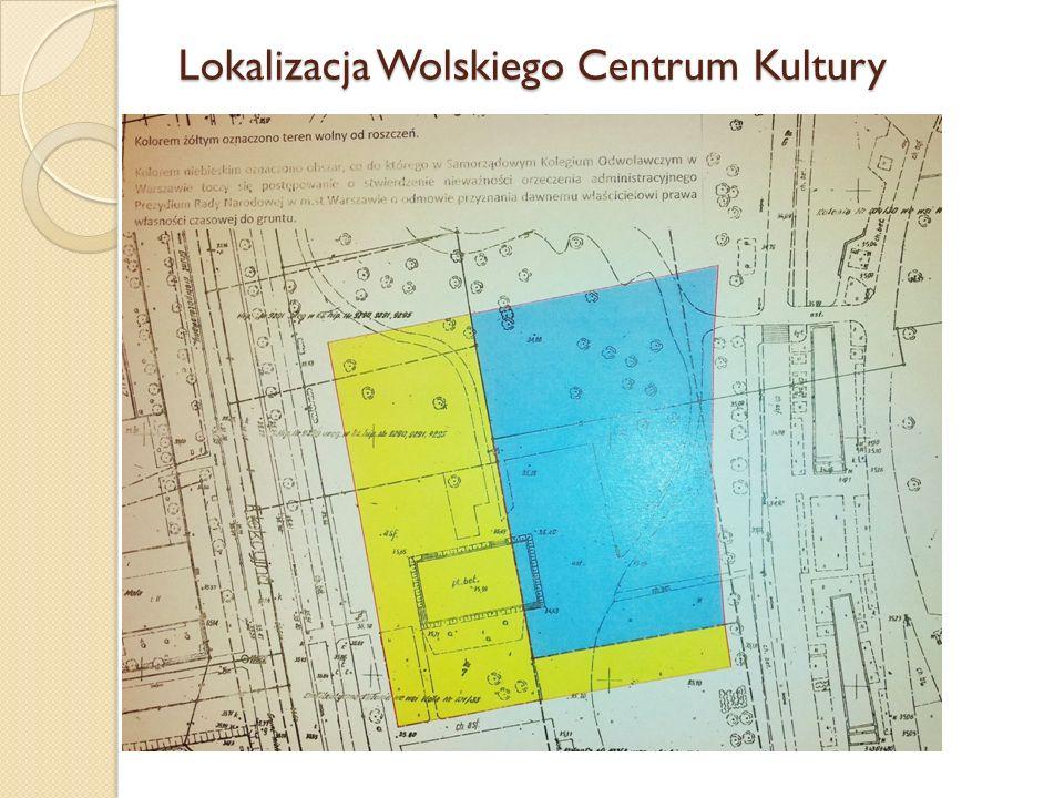 Lokalizacja Wolskiego Centrum Kultury