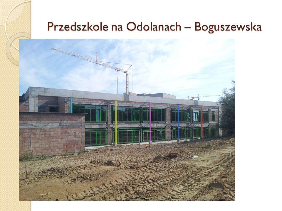 Przedszkole na Odolanach – Boguszewska