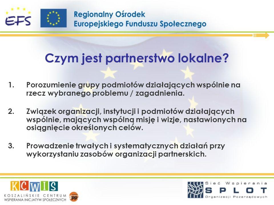 Czym jest partnerstwo lokalne