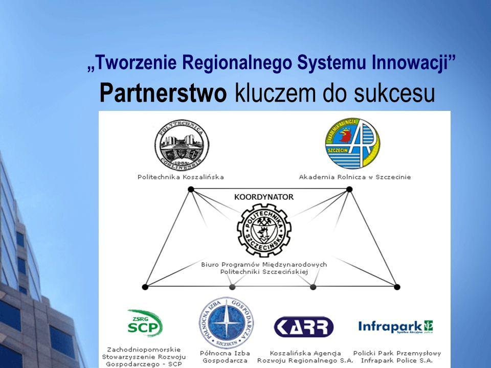 """""""Tworzenie Regionalnego Systemu Innowacji Partnerstwo kluczem do sukcesu"""
