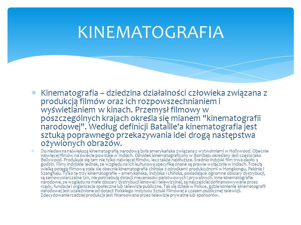 KINEMATOGRAFIA