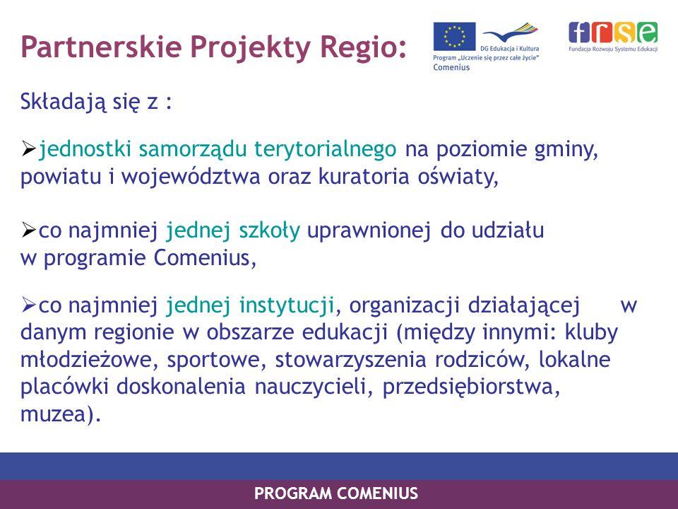 Partnerskie Projekty Regio:
