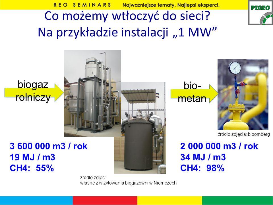 """Co możemy wtłoczyć do sieci Na przykładzie instalacji """"1 MW"""