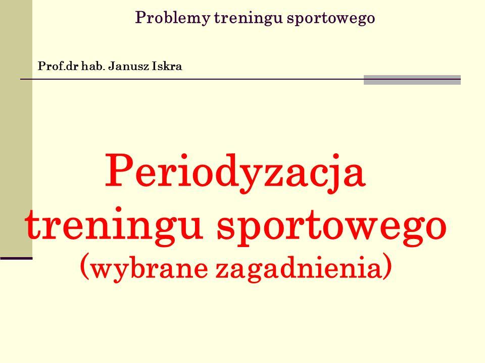 Problemy treningu sportowego