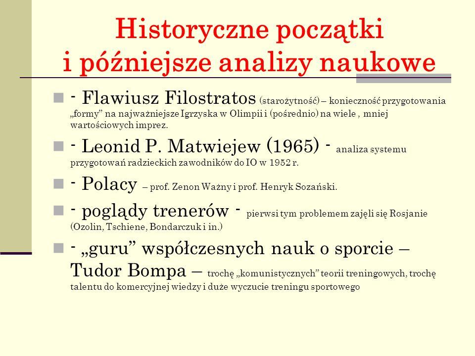 Historyczne początki i późniejsze analizy naukowe