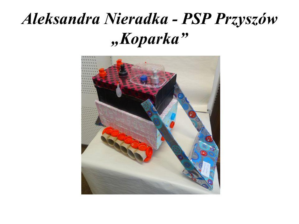 """Aleksandra Nieradka - PSP Przyszów """"Koparka"""