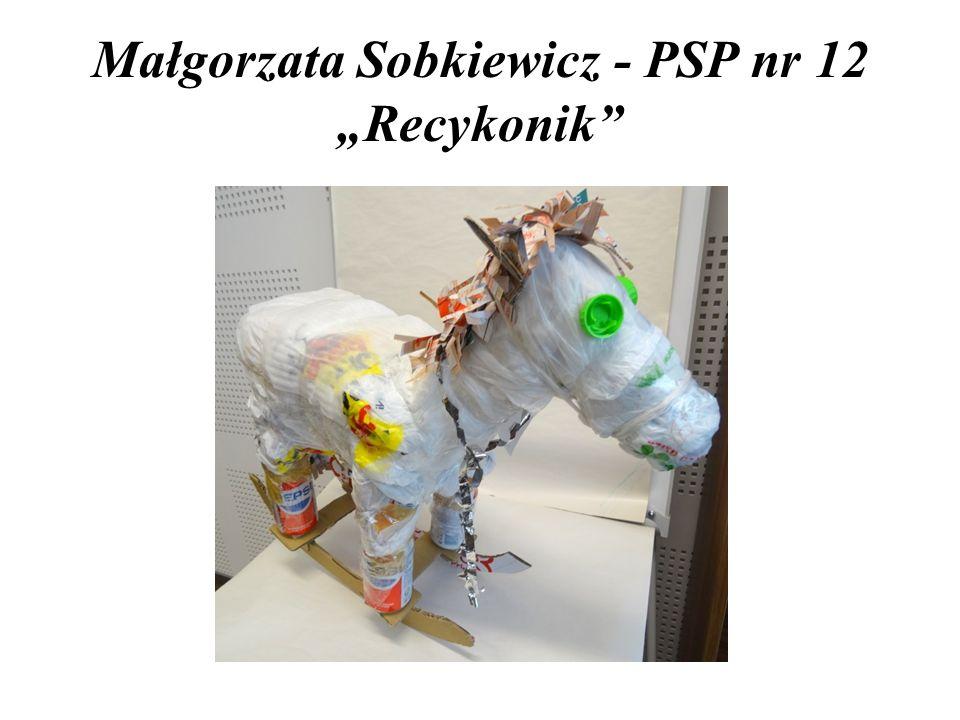 """Małgorzata Sobkiewicz - PSP nr 12 """"Recykonik"""