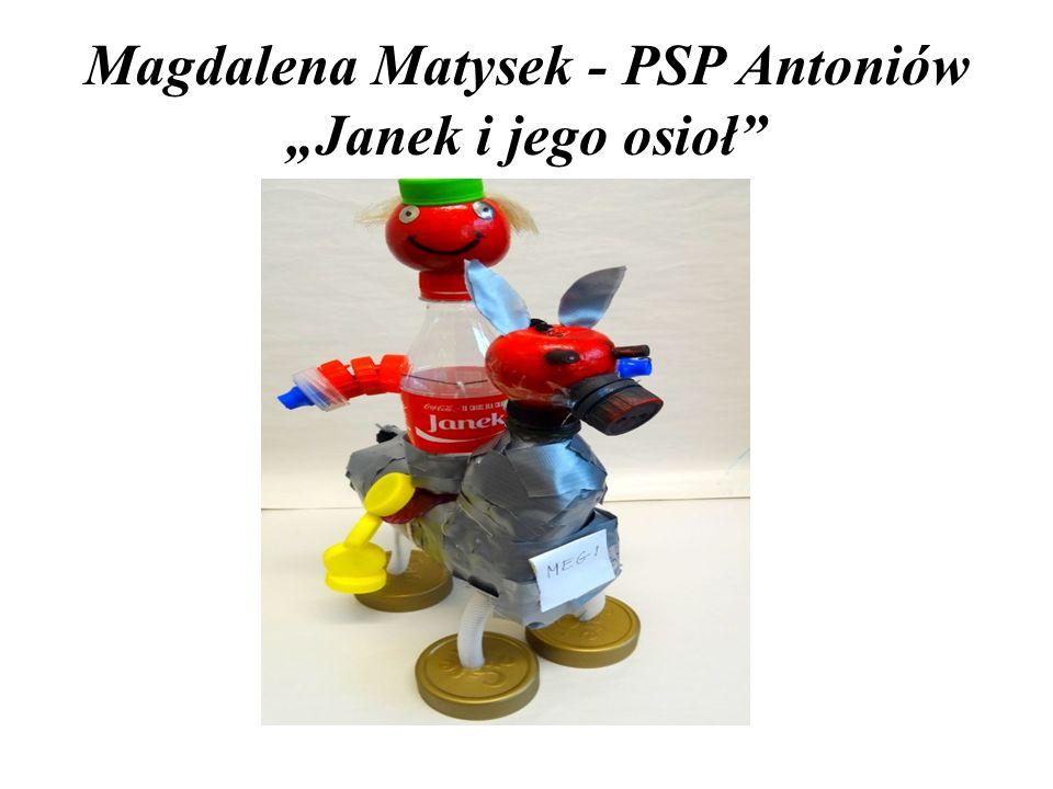 """Magdalena Matysek - PSP Antoniów """"Janek i jego osioł"""