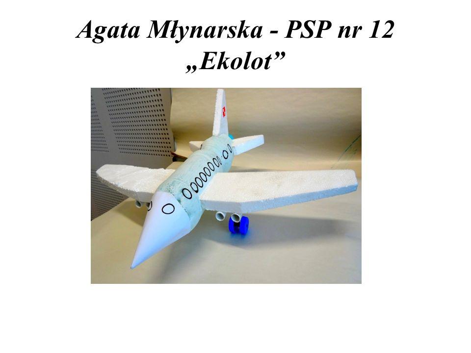 """Agata Młynarska - PSP nr 12 """"Ekolot"""