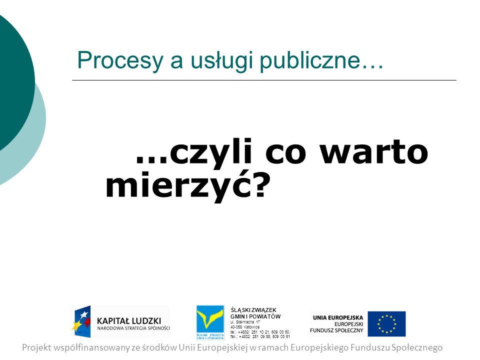 Procesy a usługi publiczne…