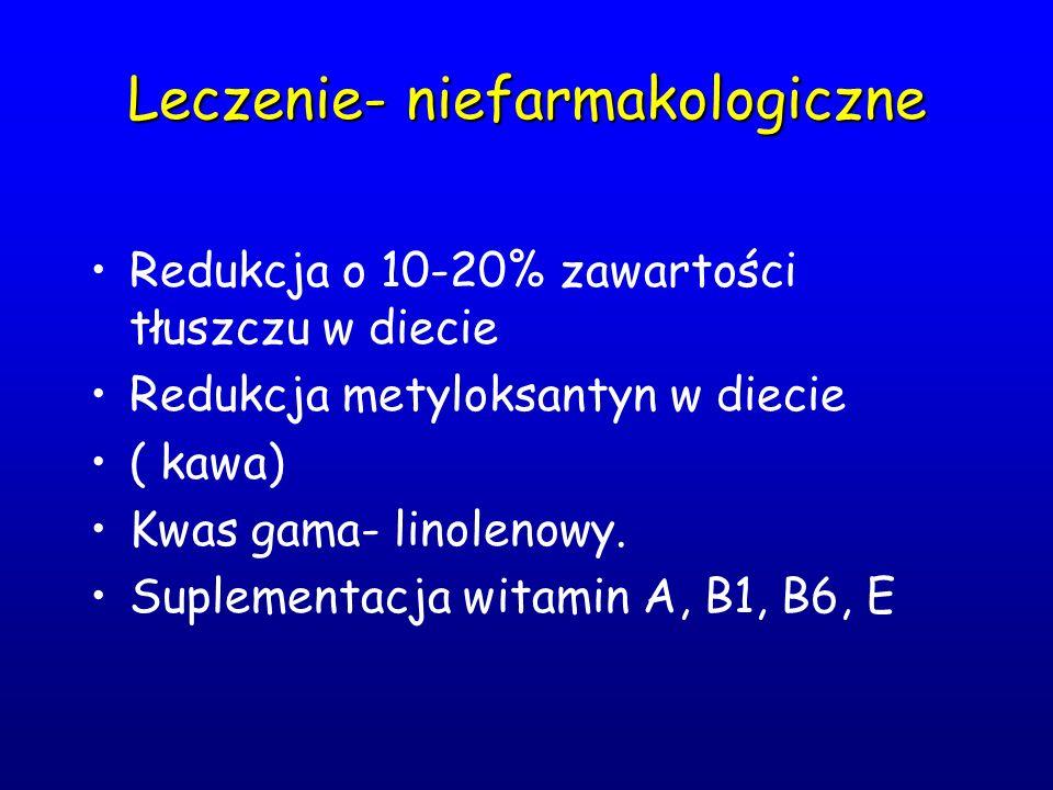 Leczenie- niefarmakologiczne