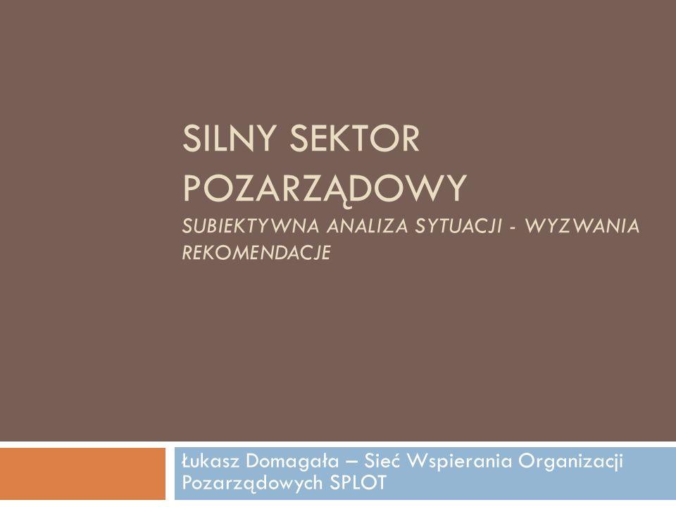 Łukasz Domagała – Sieć Wspierania Organizacji Pozarządowych SPLOT
