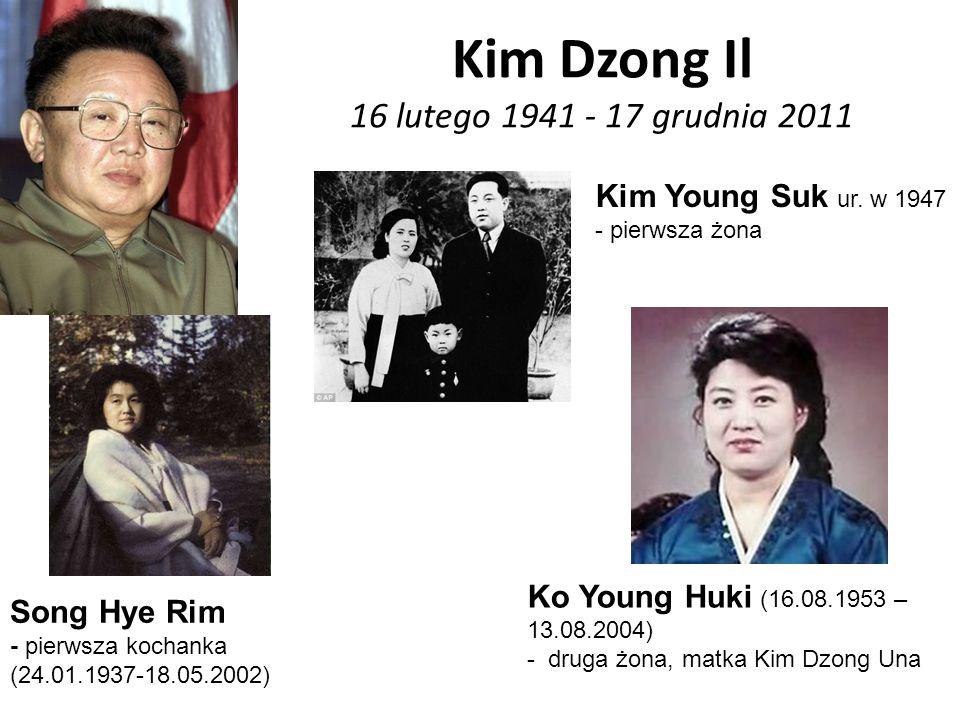 Kim Dzong Il 16 lutego 1941 - 17 grudnia 2011