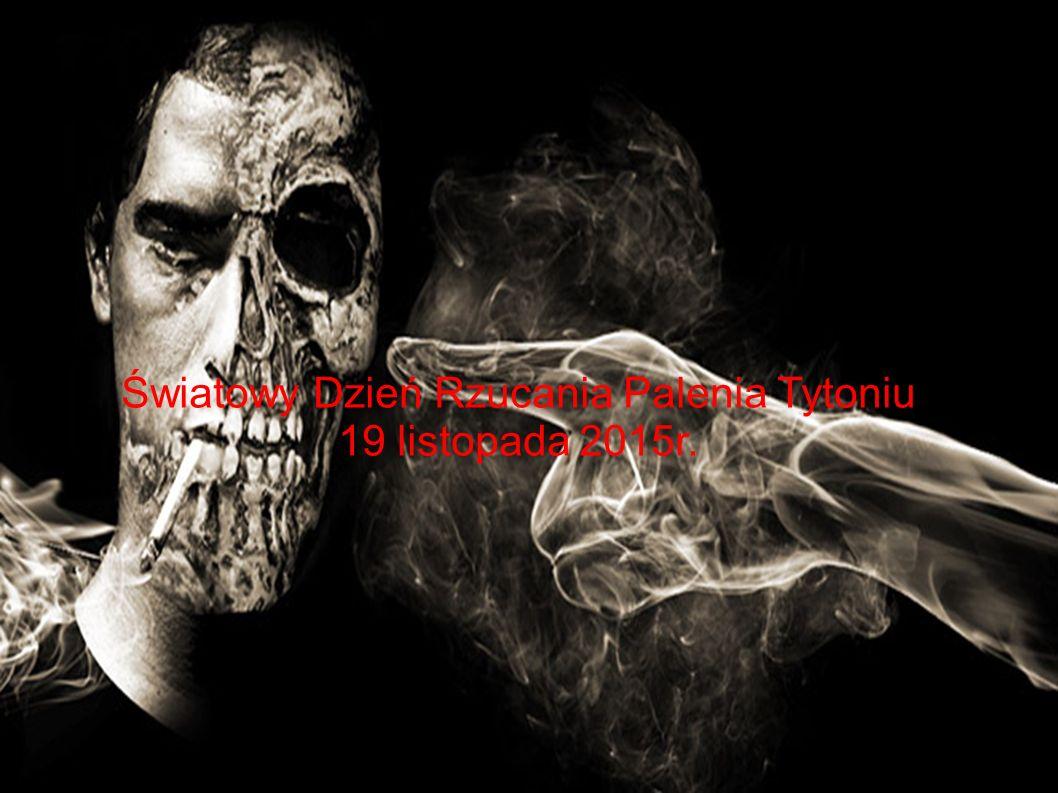 Światowy Dzień Rzucania Palenia Tytoniu 19 listopada 2015r.