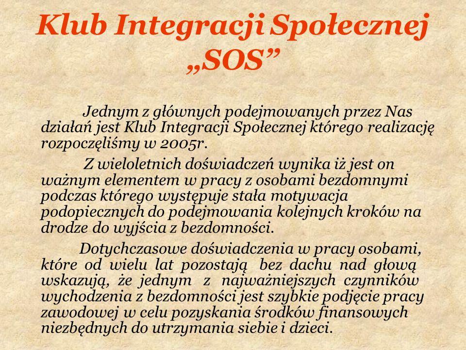 """Klub Integracji Społecznej """"SOS"""