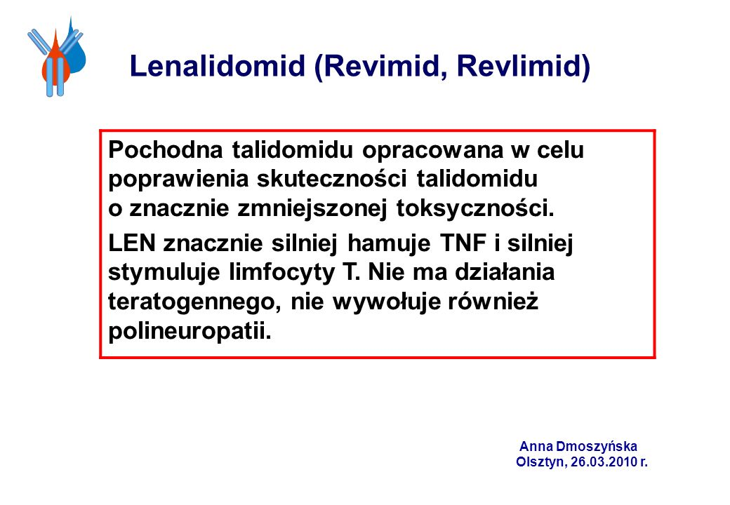 Lenalidomid (Revimid, Revlimid)