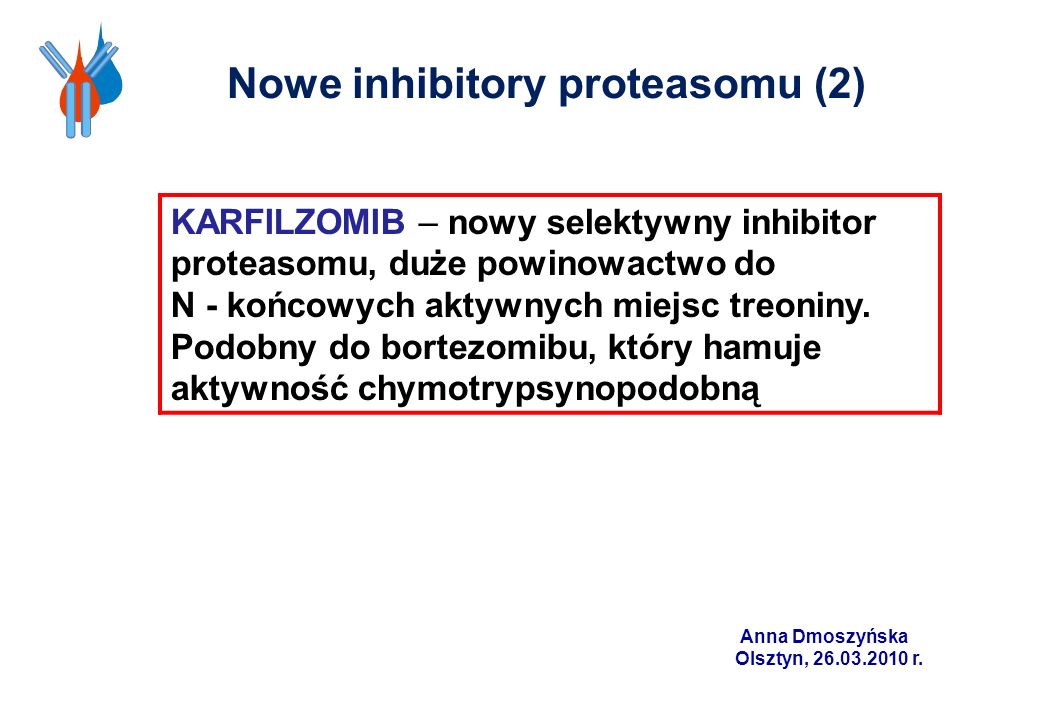 Nowe inhibitory proteasomu (2)