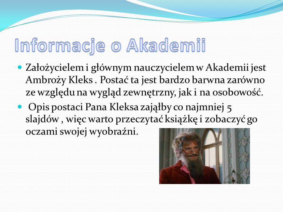 Informacje o Akademii