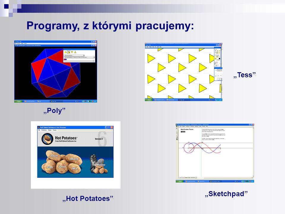 Programy, z którymi pracujemy: