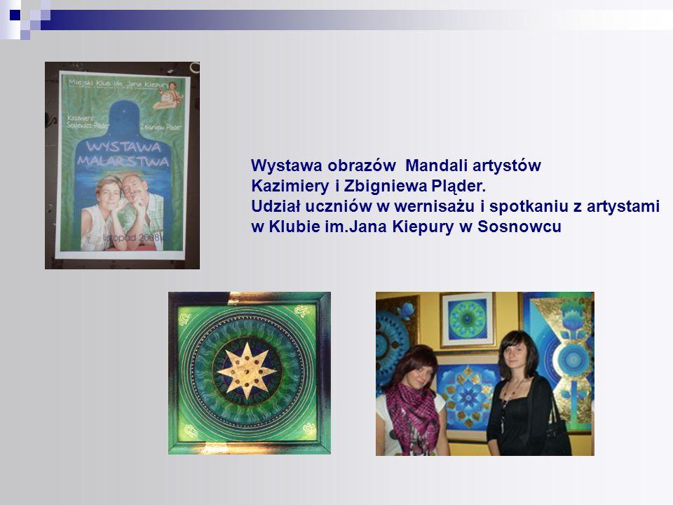 Wystawa obrazów Mandali artystów