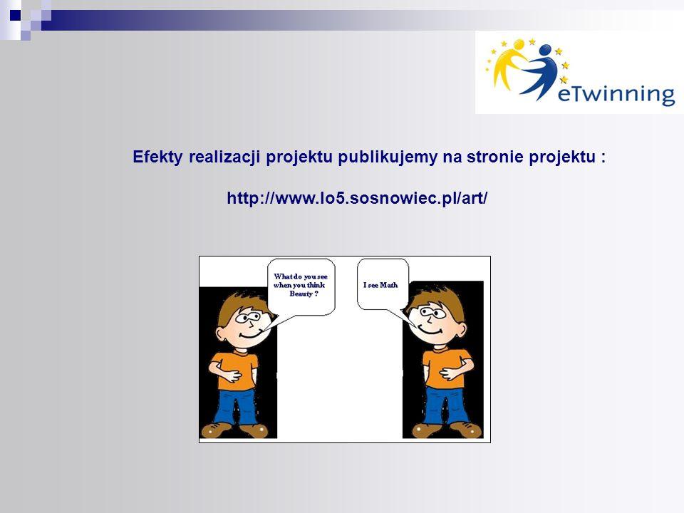 Efekty realizacji projektu publikujemy na stronie projektu :
