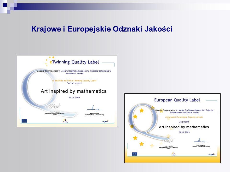Krajowe i Europejskie Odznaki Jakości