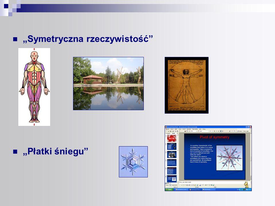 """""""Symetryczna rzeczywistość"""