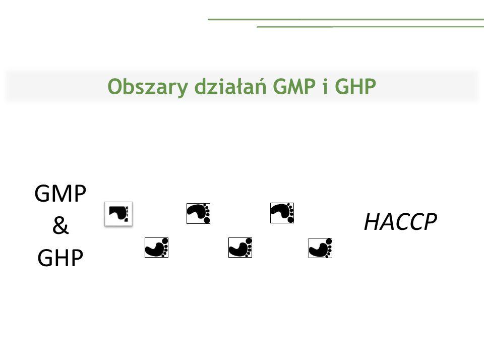 Obszary działań GMP i GHP