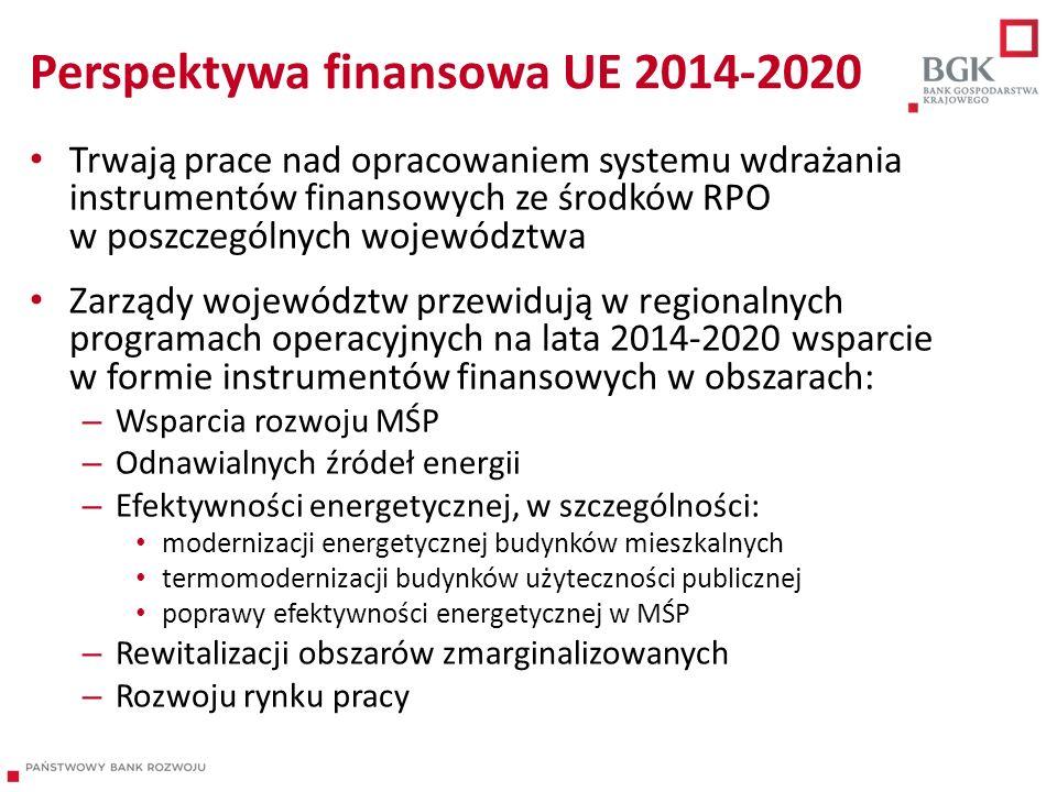 Perspektywa finansowa UE 2014-2020
