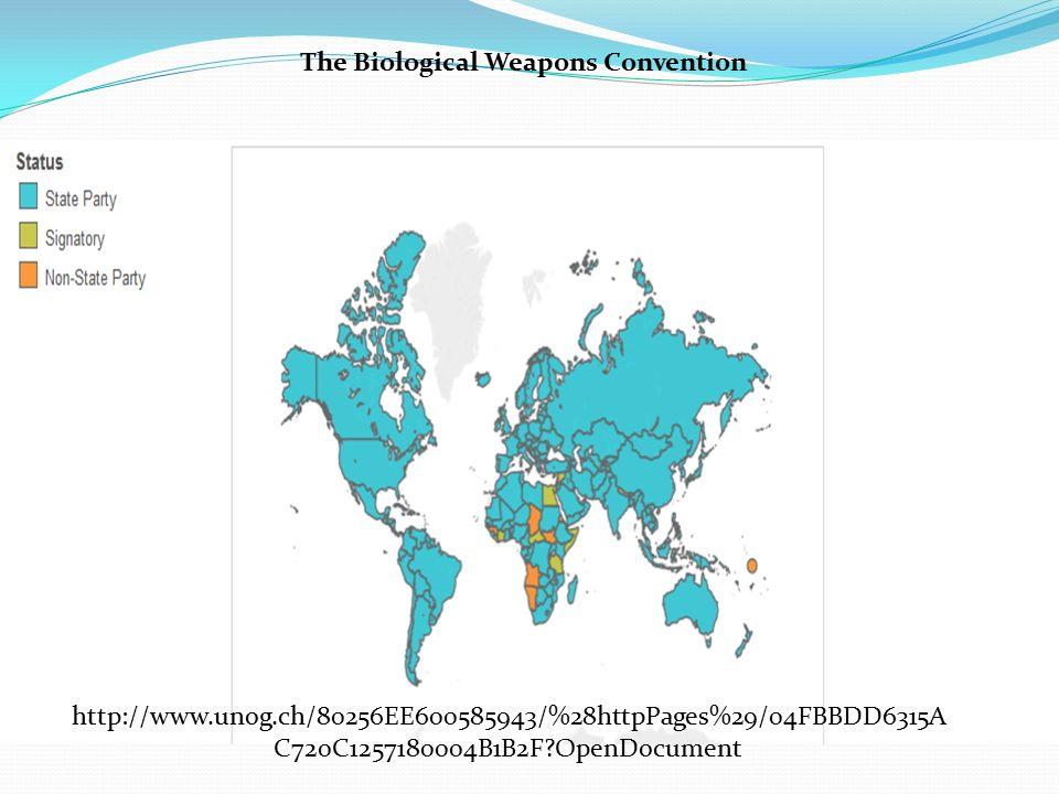 The Biological Weapons Convention