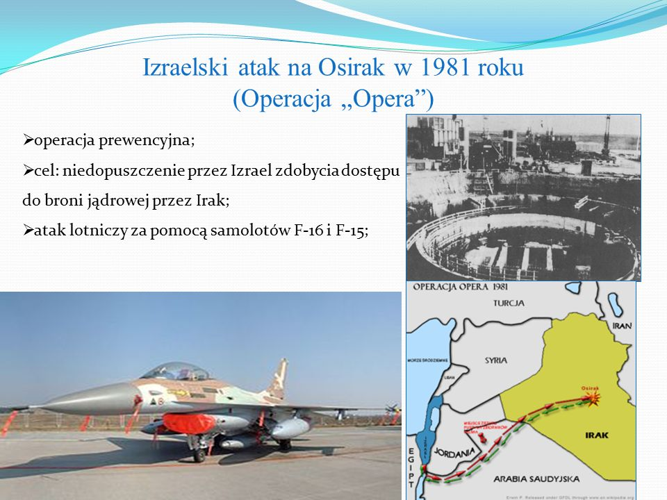 Izraelski atak na Osirak w 1981 roku