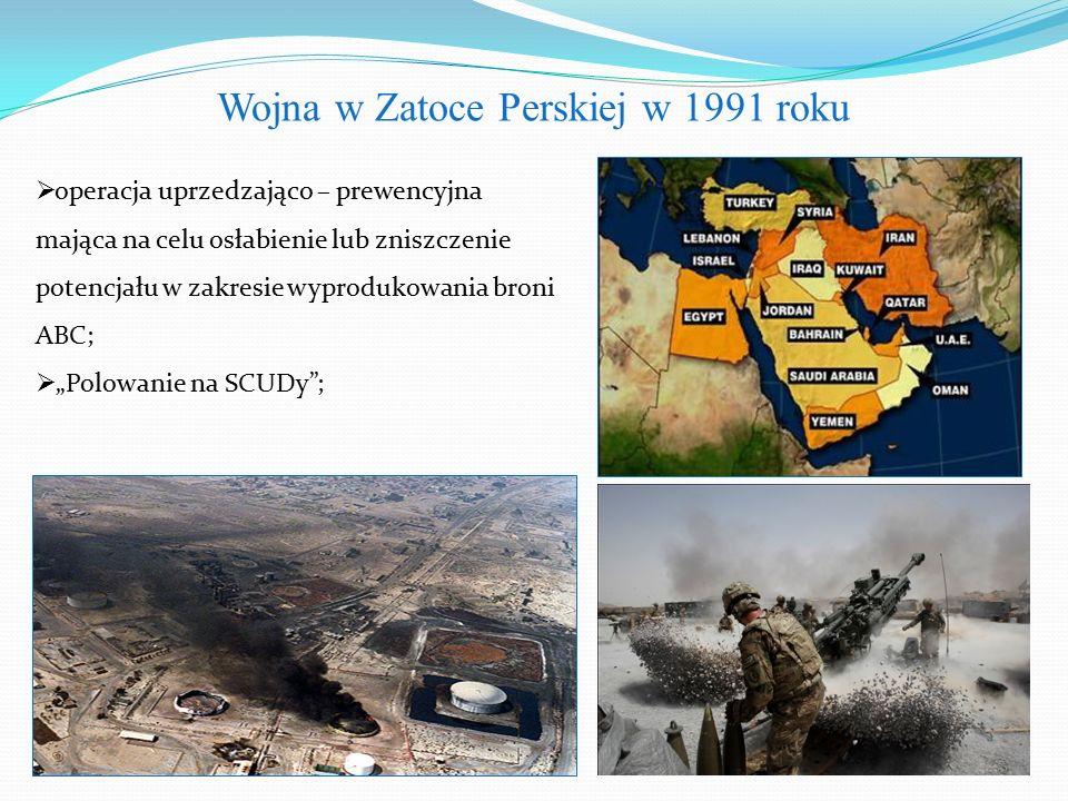 Wojna w Zatoce Perskiej w 1991 roku