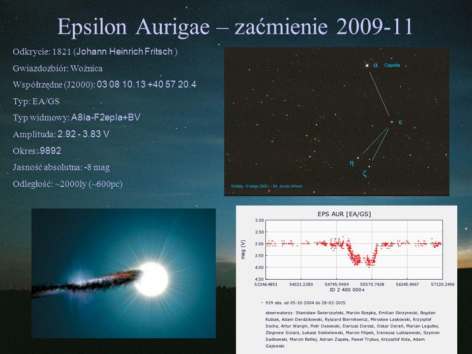 Epsilon Aurigae – zaćmienie 2009-11
