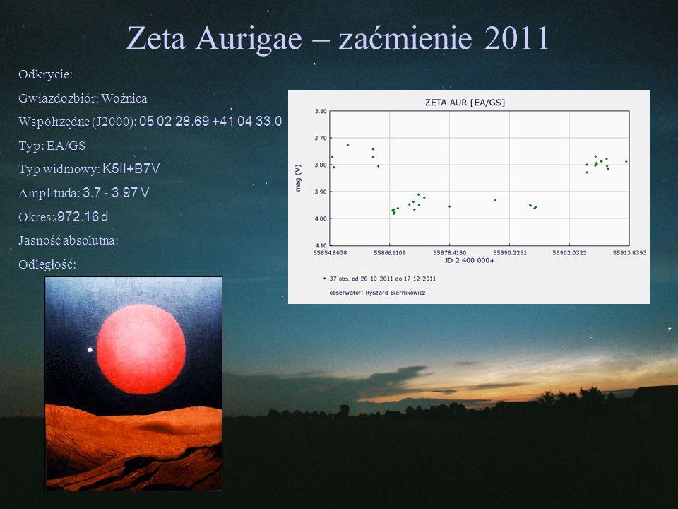 Zeta Aurigae – zaćmienie 2011