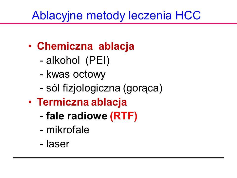 Ablacyjne metody leczenia HCC