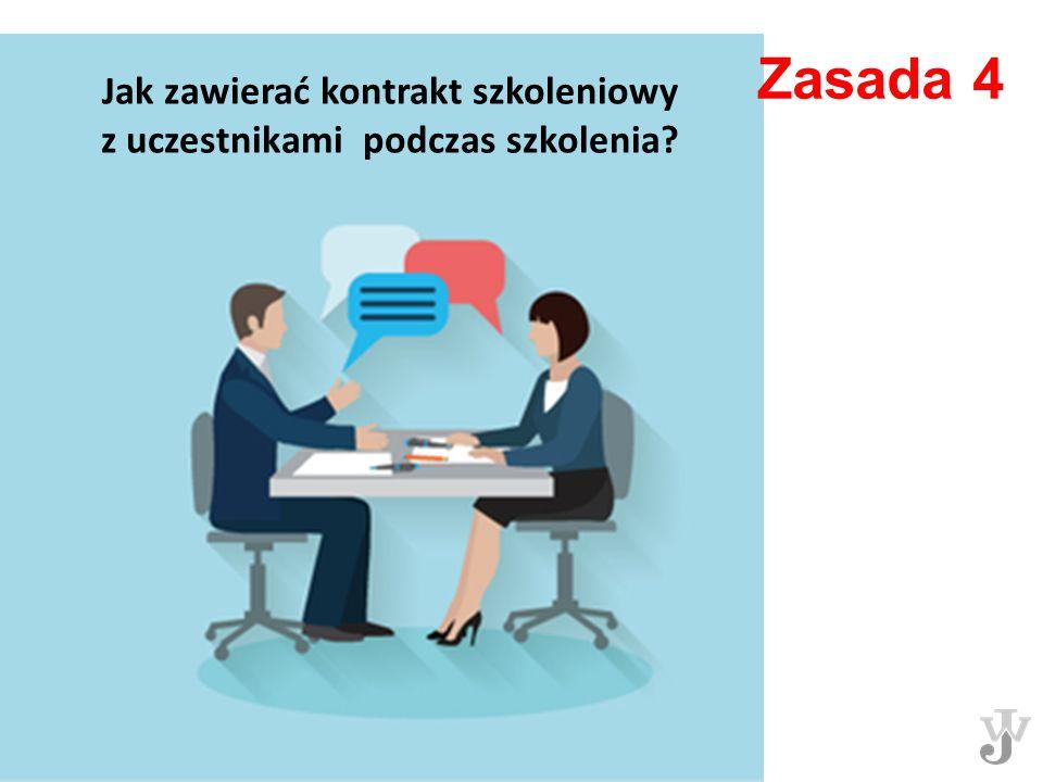 Jak zawierać kontrakt szkoleniowy z uczestnikami podczas szkolenia