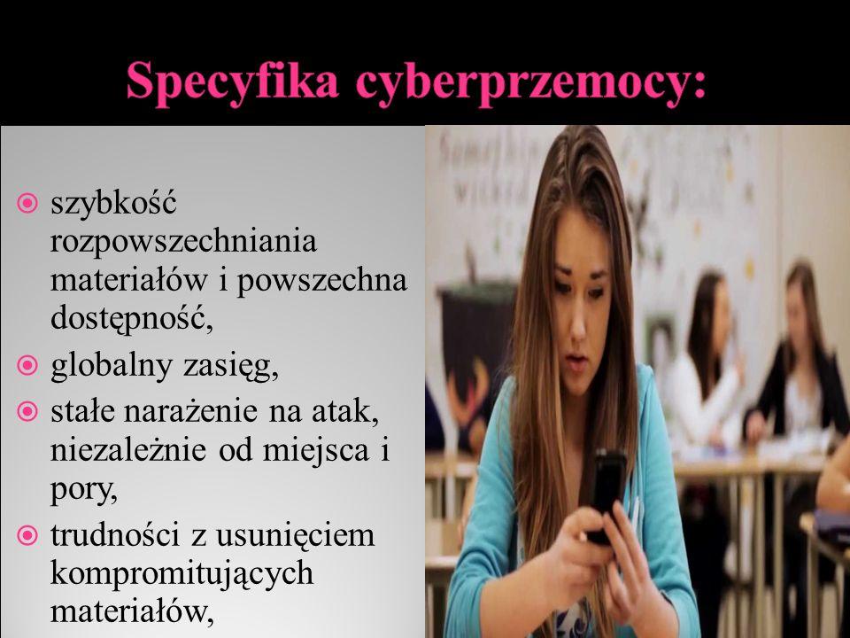 Specyfika cyberprzemocy: