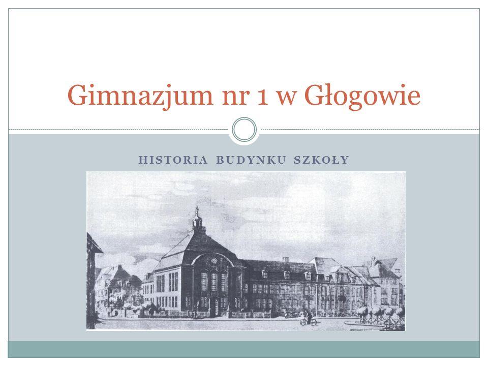 Gimnazjum nr 1 w Głogowie