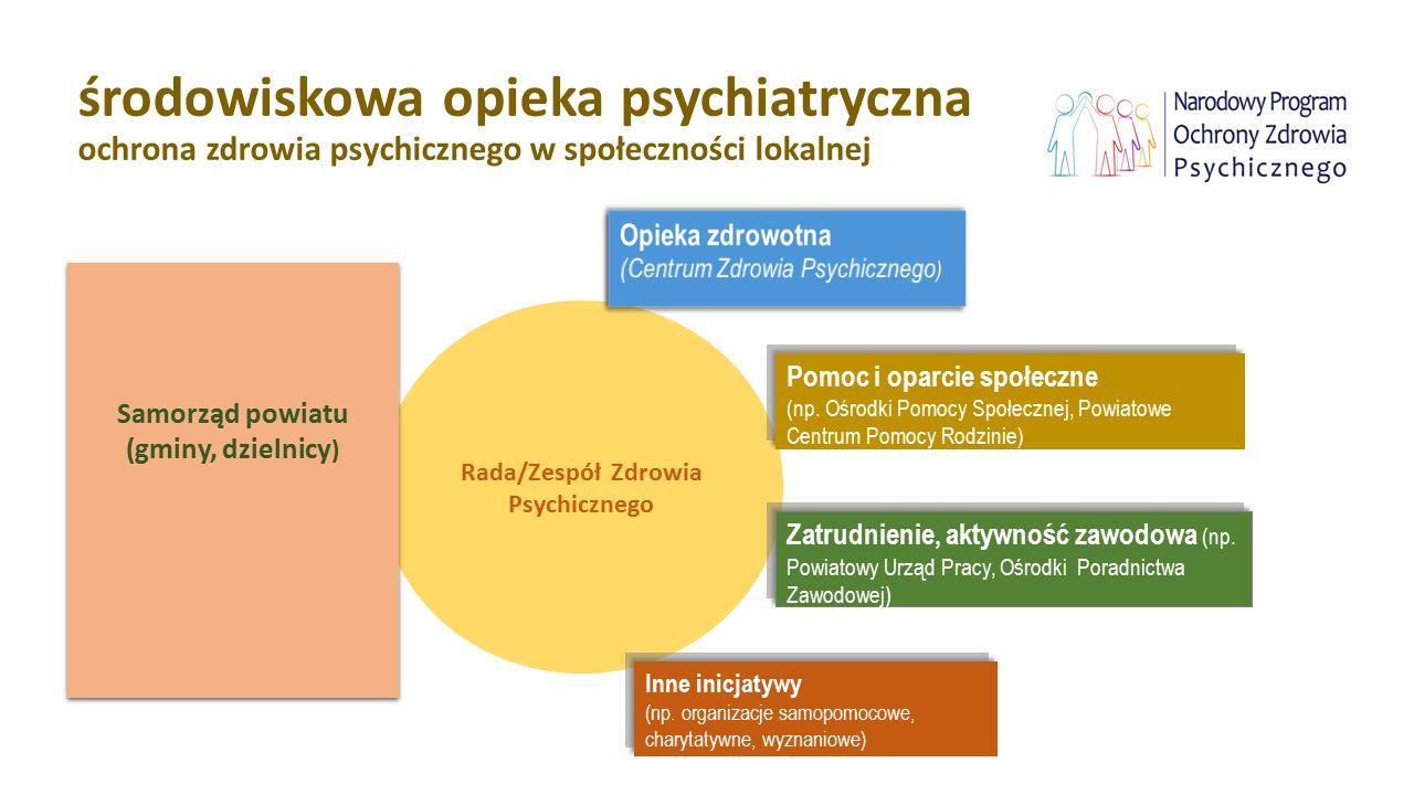 Rada/Zespół Zdrowia Psychicznego